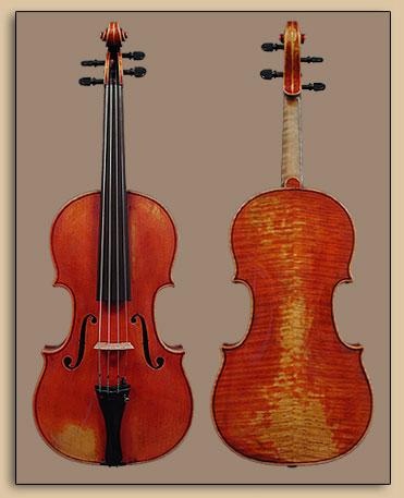 Violin 1994, Copy of Jean Jacques Thibout 1810